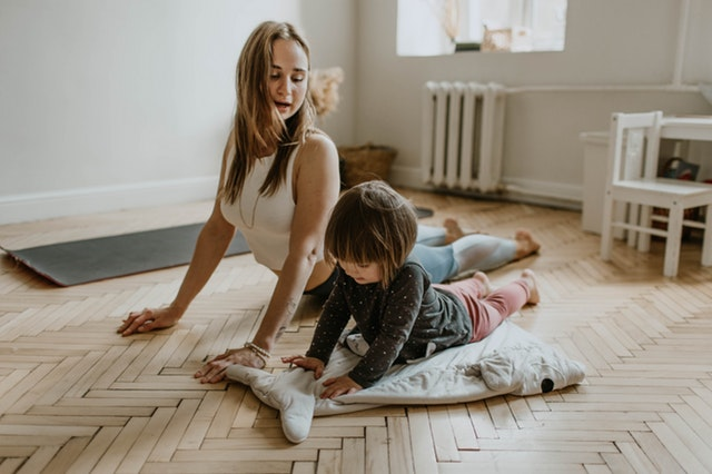 Streaming yoga videos for kids is a go-to no prep, no mess activity our preschoolers love.
