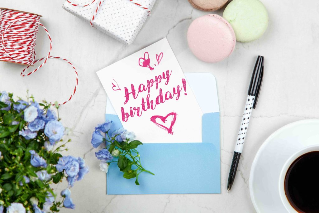 Friends can still send cards and texts to celebrate your kids' birthday