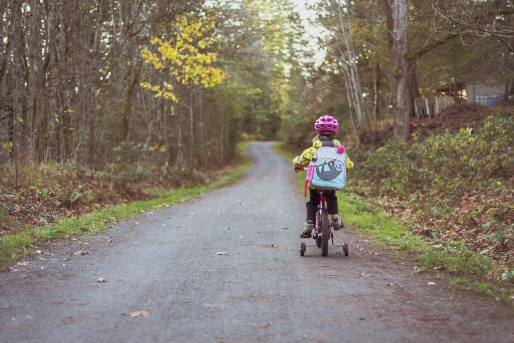 A family bike ride might be a fun way to celebrate kids' birthdays while in quarantine.