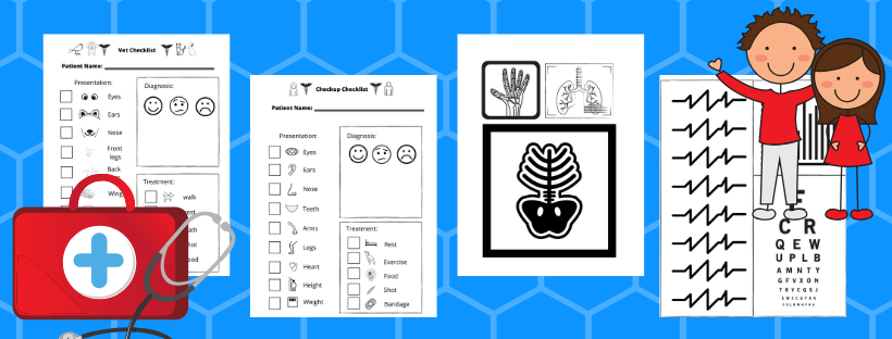 pretend doctor dramatic play printables