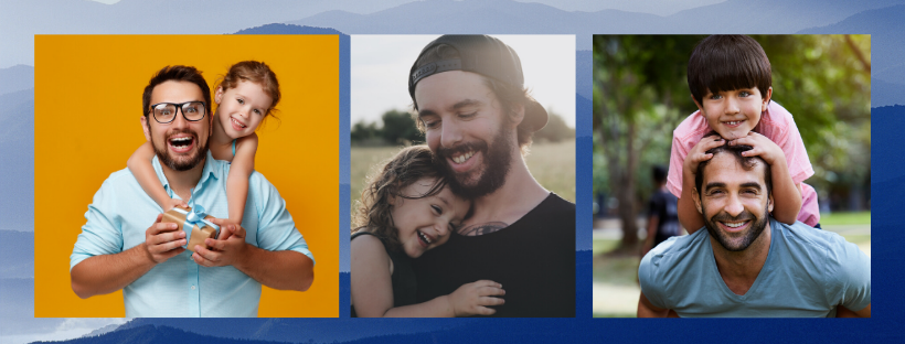 pictures of dads and kids