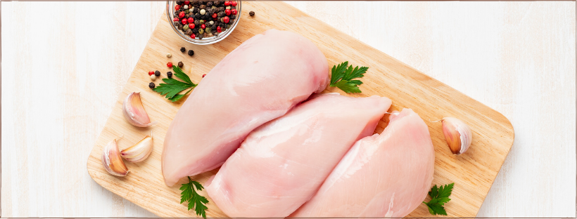 photo of chicken breasts to introduce chicken breast recipes