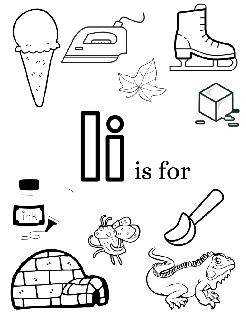 images of items that start with the letter I