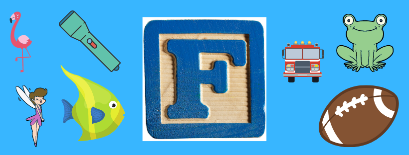 letter F show and tell ideas