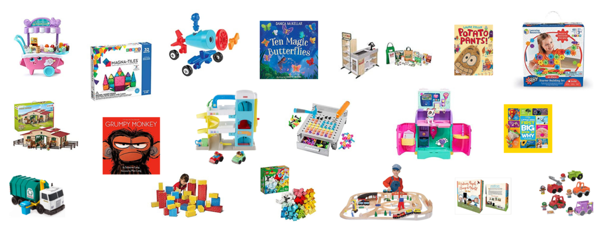 preview of the best toys for preschoolers