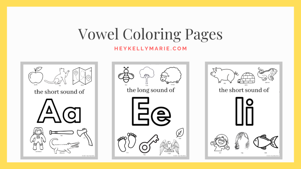 image to download printable vowel coloring pages