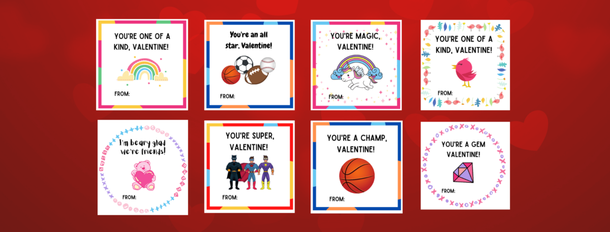 preview of free, printable valentines for kids