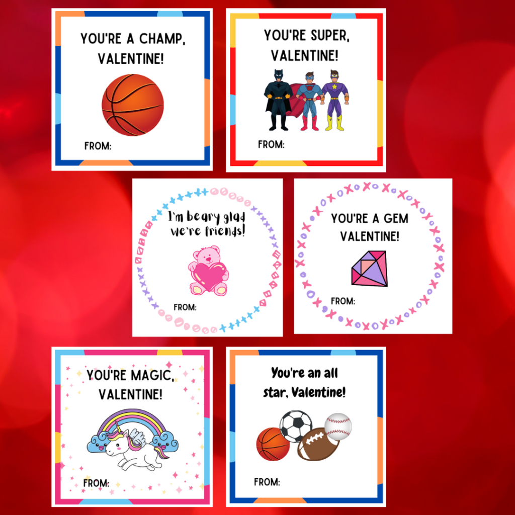 free printable valentines for kids valentine's day activity for kids