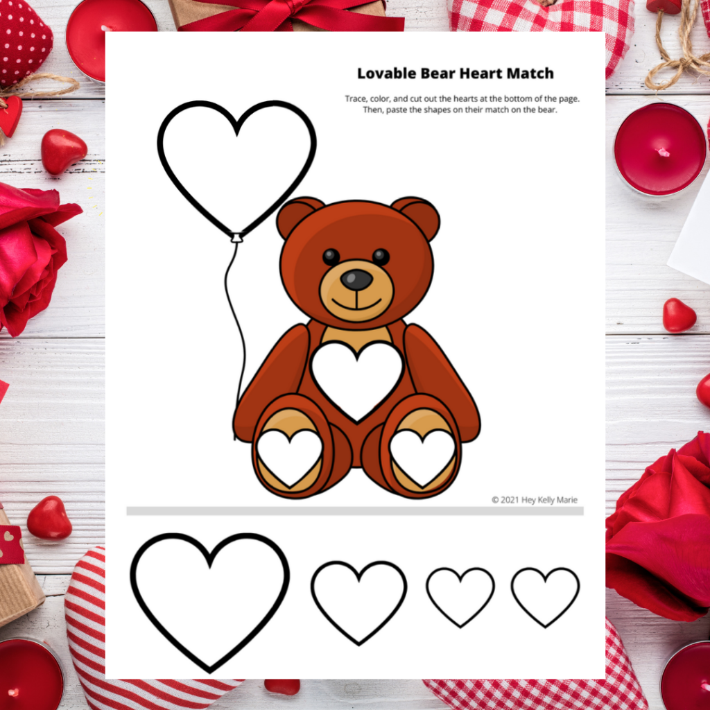 valentine's day activity for kids pin