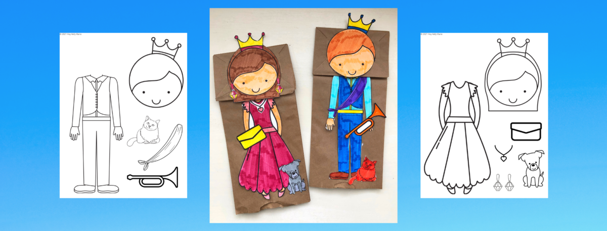 prince and princess puppet preview picture
