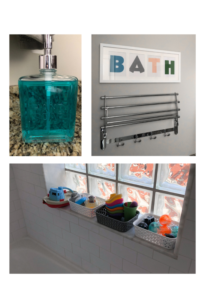 kids bathroom decor items