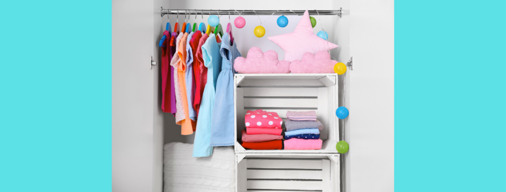 For our family, having fewer kid's clothes has meant getting dressed more quickly and easily.