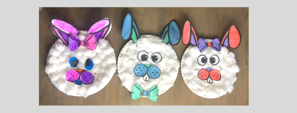 preview image of the paper plate bunny crafts