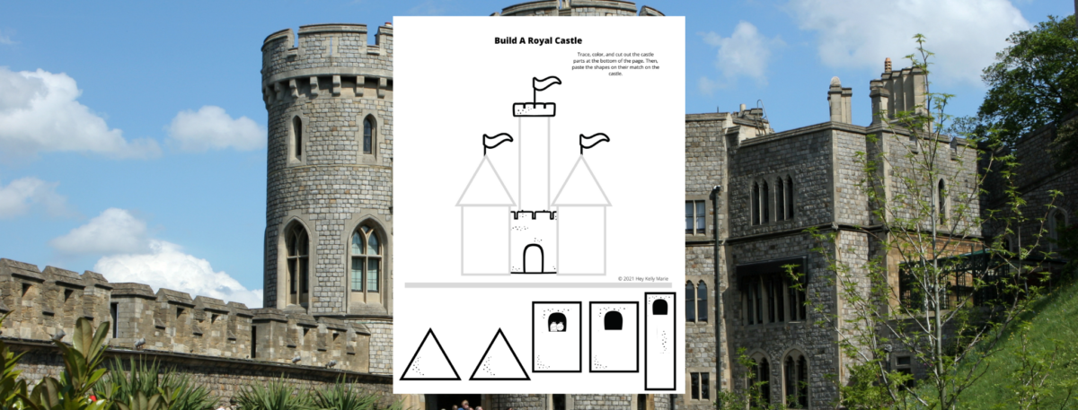 preview of build your own castle activity