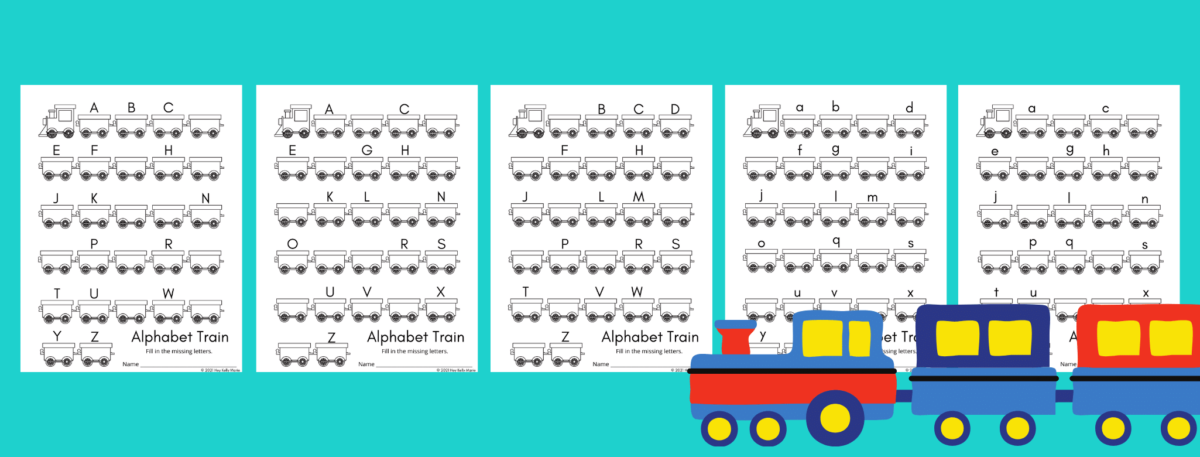 preview for missing letters worksheets for preschool kids